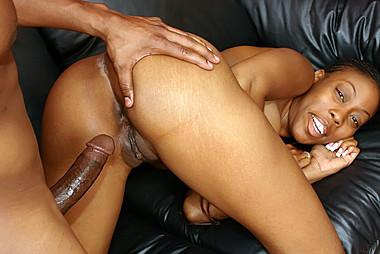 Erotic ebony pussy