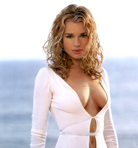 Rebecca Romijn grew up in