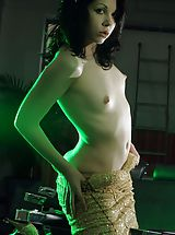 Small Breast, Green Light from NenaBlue