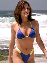 Tiny Bikini, Hot Actress Krista Allen Shows Her Fabulous Boobs