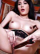 Female Masturbation, Chanya 06, Ganz Enge Muschi Nach Dem Kegel Training