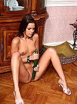 Female Masturbation, ALS Scan, Shaved Pussy of Meggan Mallone 08