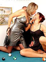 Secretary, Drunk Chick Torments Couple