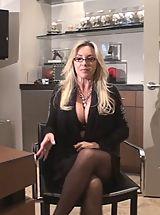 Secretary, Orally Obsessed Wifey in Recession XXX