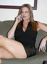 Secretary, Content of Michelle Barrett - On our flight back from Europe I met the sexiest stewardess. She was tall and had a great rack. She let me touch them in the tiny bathroom on the airplane. There wasn't enough room to do to each other what we really...