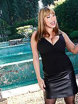 Secretary, Hot momma Ava Devine rides her next-door neighbor hard magicstick
