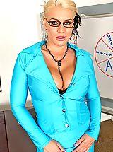 Secretary, Sadie Swede