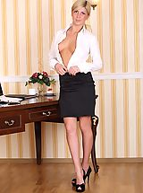 Secretary, Hot Babe Tales feat. Amalia C. in Hard Work