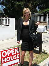 Secretary, Rough Sex with Hot Milf Holly Sampson