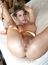Secretary, Samantha Saint and her perky tits are here to show Ryan's cock what a good time is.