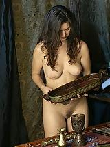 Secretary, WoW nude betcee nude cooking