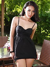 Secretary, Bare Vietnamese Sweetheart Marky 19 Lace Negligee Behaired Twattery