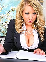 Secretary, Reality Kings shows Heather from Big Tits Boss