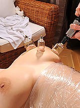 Big Nipples, Shione Cooper gets spanked