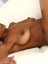 Big Nipples, Lesbian girl Ema gets her sweet ass fingered by Izabella