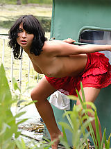 Upskirt, Hot Babes of Zemani