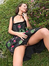 Upskirt, Hot Babe Tales feat. Lorena G. in Sexy Mountain Views