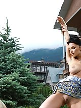 Public Nudity, Met Art JENYA D: PROSPEAS by LEONARDO