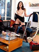Sexy Legs, Cute french maid, Tiffany Doll