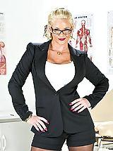 Sexy Legs, Naughty Nurse Phoenix Marie