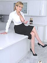 Sexy Legs, Classy long legs mature nylons wife