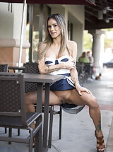 Sexy Legs, Nadia's New Way of Golfing