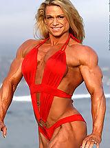 Micro Bikini, Tina Chandler Olympian Poses