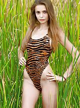 Bikini, Elle | Hiding in the Grass