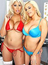 Micro Bikini, Naughty Nurse Bridgette B,Mariah Madysinn