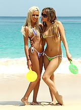 Micro Bikini, Island erotica 17 kacey jordan pussy stuffing at beach