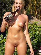 Micro Bikini, New ALS Angels Model Mia Malkova Rams a Giant Bottle Up Her Sweet Pussy