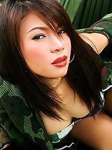 Micro Bikini, Asian Women vanessa ma 03 army pussy