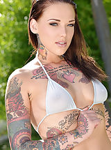 Micro Bikini, Tattooed, pierced and aroused