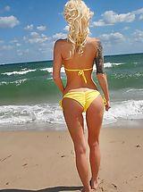 Micro Bikini, Randii from Milf Hunter
