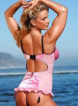 Bikini, Stephanie Houwman, Pink Beach