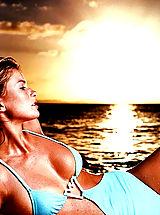 Micro Bikini, Oops Nude Celebrity Marisa Miller