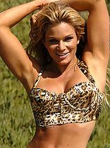 Micro Bikini, Michelle Levesque Wild Blonde Bombshell