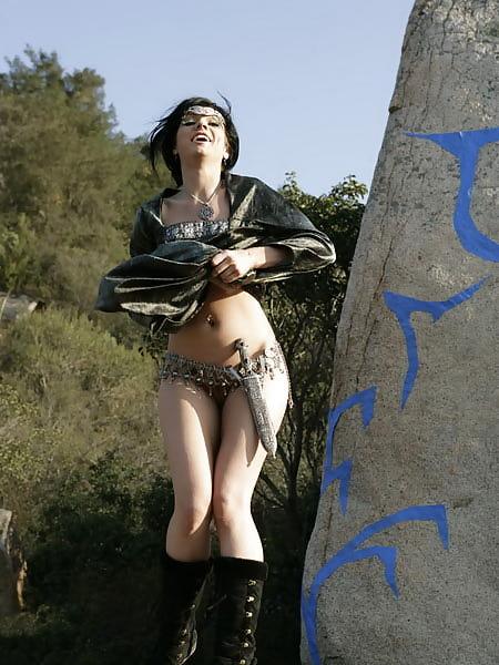 Fantasy dark nude erotic