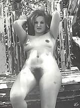 винтаж фото голых женщин