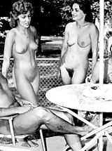 Vintage And Retro, A View into Modern Naturism Life and a Flashback into the Sixties When Girls Had Big Bushes and Sexy Hair Style
