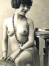 Vintage And Retro, Very Old Genuine Vintage Erotic Postcards with Naked Women from France Circa 1920
