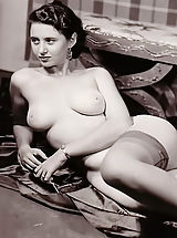 Vintage And Retro, Vintage Nude Ladies