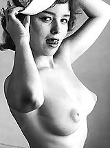 Vintage And Retro, Aged Naked Girls