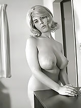Vintage And Retro, Exclusive Vintage Erotica Photos of a Big Busty Porn Queen of 1960s Owner of Enormous Pair of Fucking Breasts