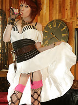Vintage And Retro, In this steam punk themed scenario, Zoey finds out that Ryan has a load of steam spunk for her pussy.
