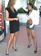 High Heels, Instead of doing the normal grocery shopping Kelly brought home the other dark meat, Lacey.