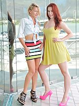 High Heels, Lena and Melody Public Fun