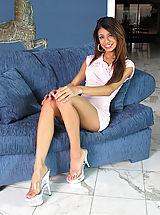 High Heels, Pussy Closeup of Veronica Rodriguez