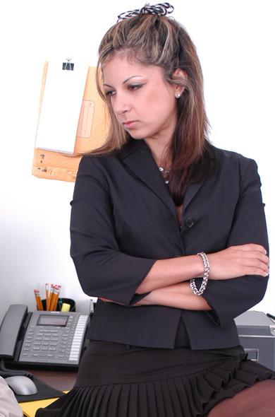 Gia Jordan in Office Sex Encounters