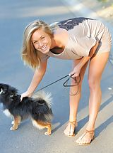 FTV Girls, Kennedy walking the dog